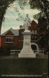 Robert Burns Monument and Spaulding School
