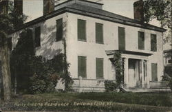 Hetty Green's Residence - Bellow Falls, Vt