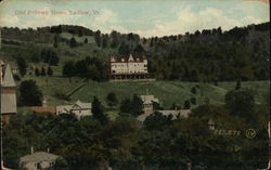 Odd Fellows Home Postcard