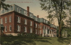 Herkimer County House Postcard