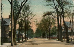 Center Avenue Postcard