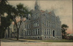 St. Mary's School and Convent Postcard