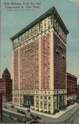 Hotel Belmont, Park Ave. and Forth-Second Street