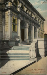 The Main Entrance, Providence Public Library