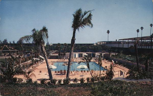 Disneyland Hotel - Coral Swim Club Anaheim California