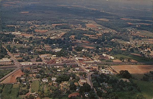 Aerial View Appomattox Virginia