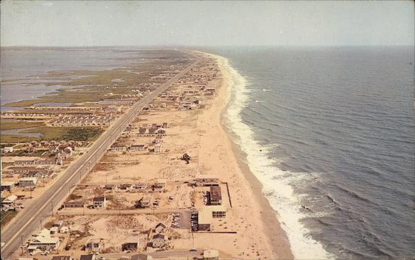Aerial View of North Ocean City Maryland