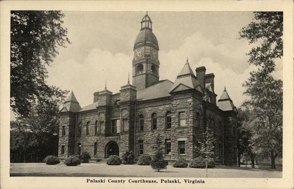 Pulaski County Courthouse Virginia