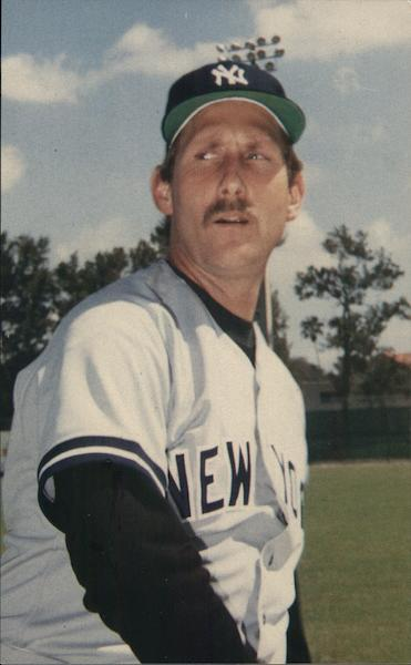 Rod Scurry, Pitcher, New York Yankees Baseball
