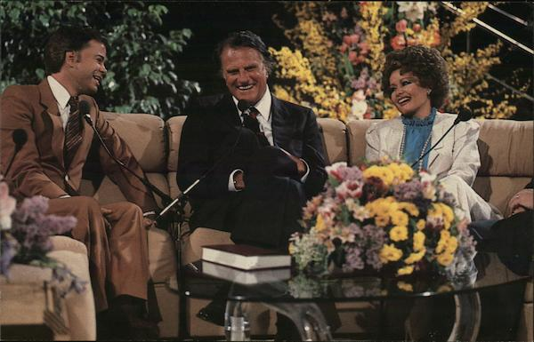 Jim and Tammy Faye Baker with Billy Graham Washington District of Columbia