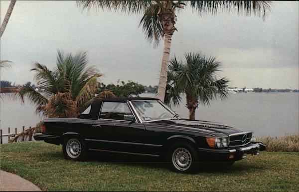 1981 Mercedes-Benz 380SL Convertible Coupe Cars