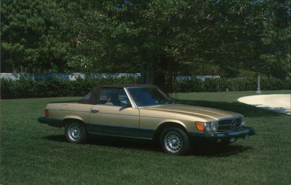 1983 Mercedes-Benz Model 500 SL Convertible Cars