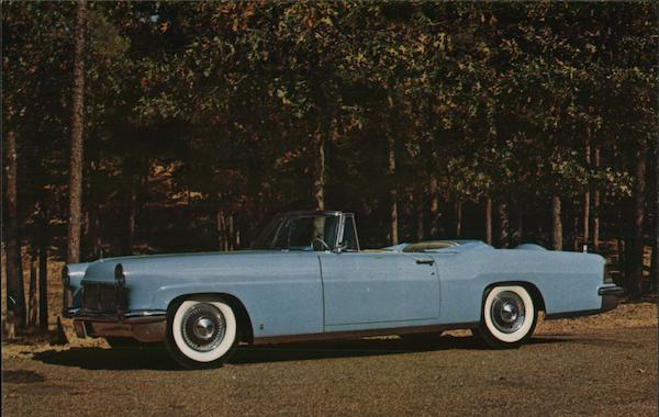 1956 Lincoln Continental Mark II Cabriolet Cars