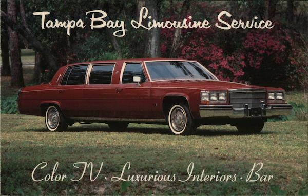 Tampa Bay Limousine Service Florida Modern (1970's to Present)