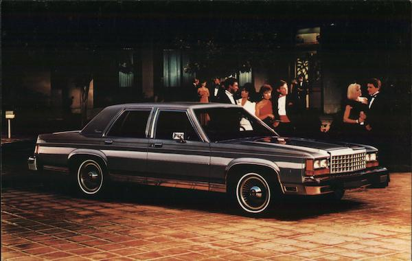 1986 LTD Crown Victoria Cars