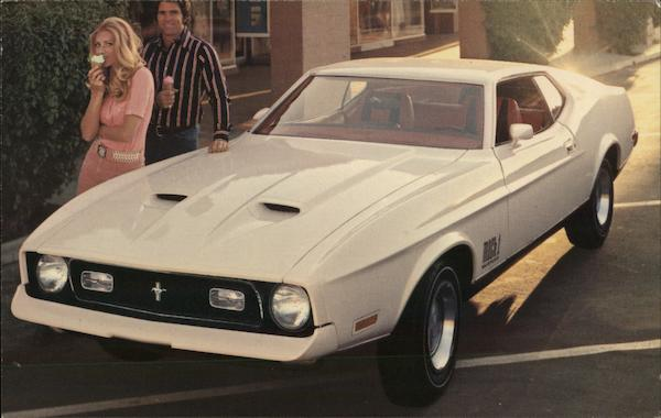 1972 Ford Mustang Mach 1 Cars