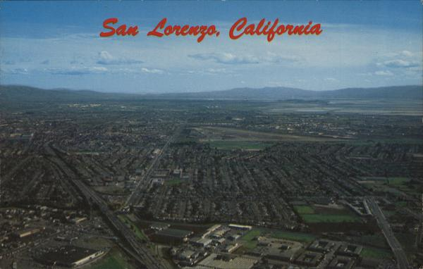 Aerial View San Lorenzo California
