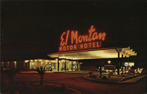 el montan motor hotel san antonio tx postcard