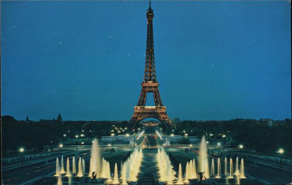 Eiffel Tower from the Trocadero Paris France
