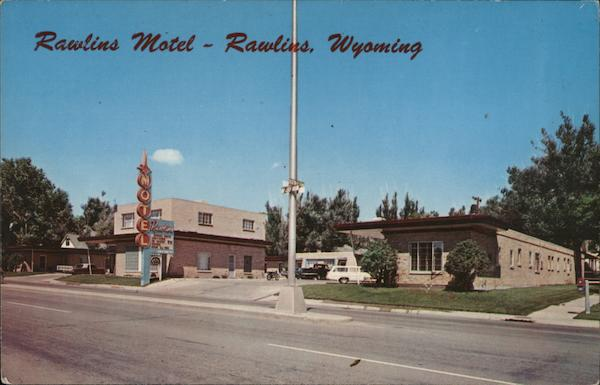 Rawlins Motel Wyoming