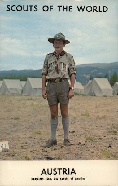 1968 Scouts of the World: Austria Boy Scouts