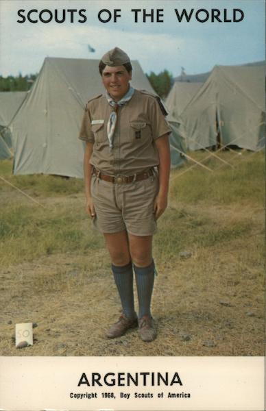 1968 Scouts of the World: Argentina Boy Scouts