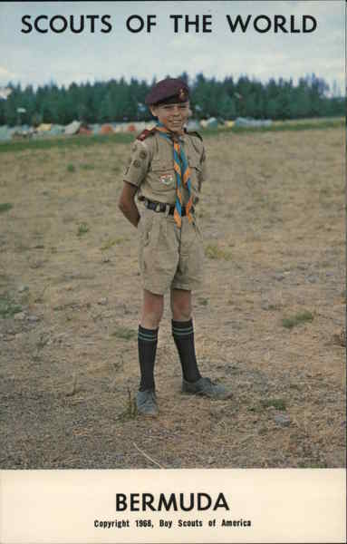 1968 Scouts of the World: Bermuda Boy Scouts