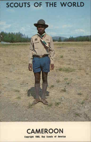 1968 Scouts of the World: Cameroon Africa Boy Scouts