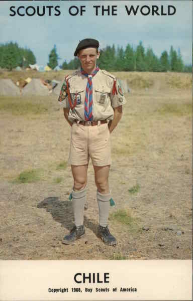 1968 Scouts of the World: Chile Boy Scouts