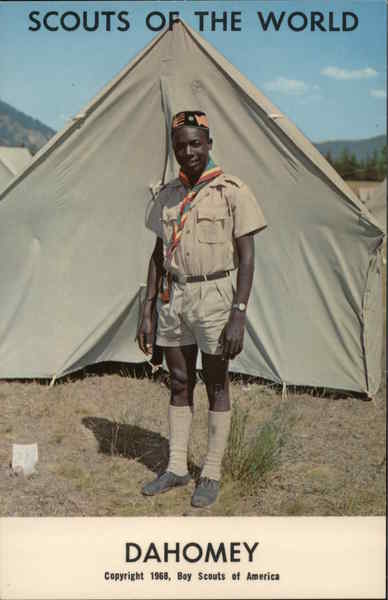 1968 Scouts of the World: Dahomey Africa Boy Scouts