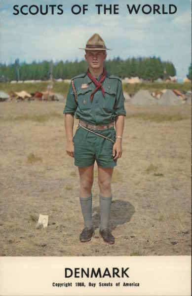 1968 Scouts of the World: Denmark Boy Scouts