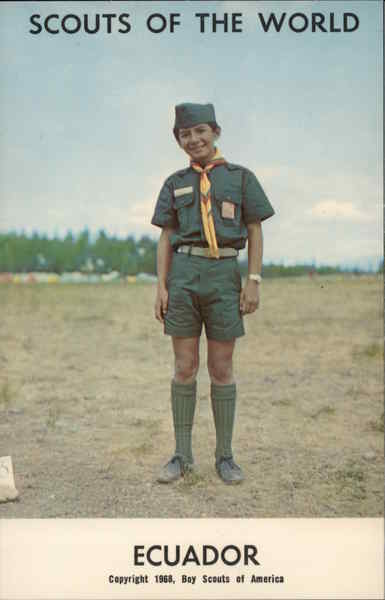 1968 Scouts of the World: Ecuador South America Boy Scouts