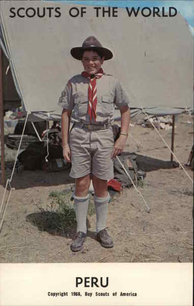 1968 Scouts of the World: Peru Boy Scouts