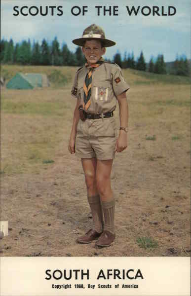1968 Scouts of the World: South Africa Boy Scouts