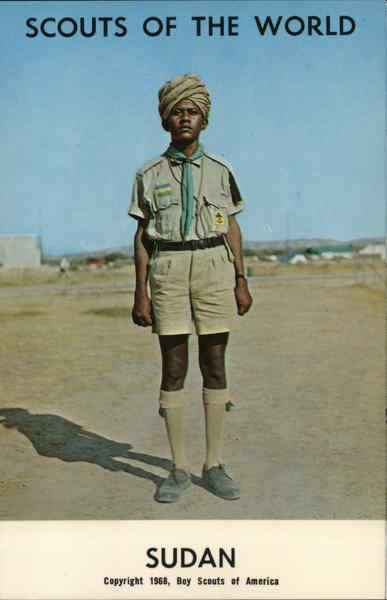 1968 Scouts of the World: Sudan Africa Boy Scouts