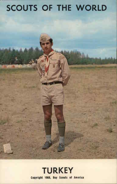 1968 Scouts of the World: Turkey Greece, Turkey, Balkan States