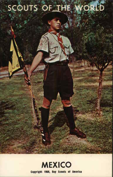 1968 Scouts of the World: Mexico Boy Scouts