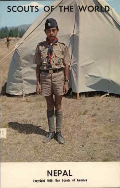 1968 Scouts of the World: Nepal Boy Scouts