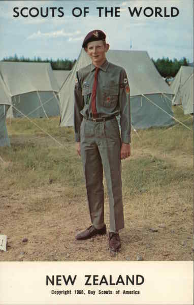 1968 Scouts of the World: New Zealand Boy Scouts