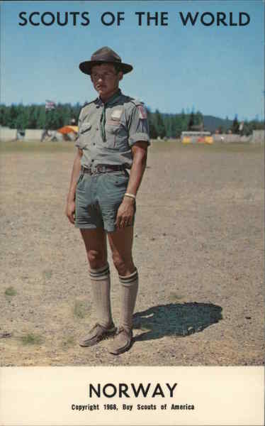 1968 Scouts of the World: Norway Boy Scouts