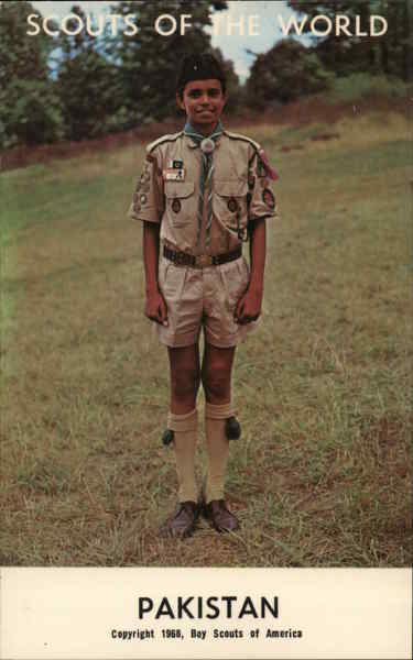 1968 Scouts of the World: Pakistan Boy Scouts