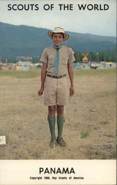1968 Scouts of the World: Panama Boy Scouts