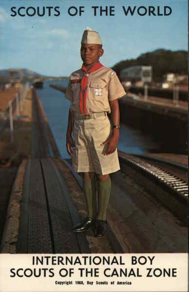 1968 Scouts of the World: Panama Canal Zone Boy Scouts
