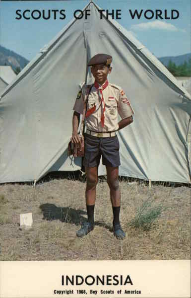 1968 Scouts of the World: Indonesia Southeast Asia
