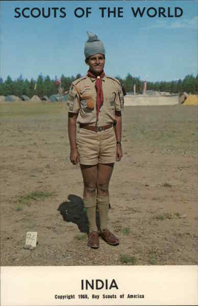 1968 Scouts of the World: India Boy Scouts