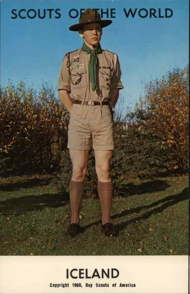 1968 Scouts of the World: Iceland Boy Scouts