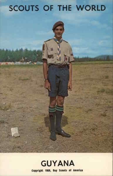 1968 Scouts of the World: Guyana South America Boy Scouts