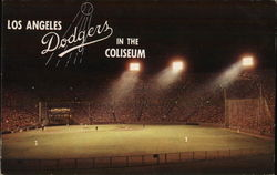 Dodgers in the Coliseum