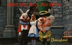 March Hare, Alice and the Mad Hatter