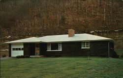 First house built with cannel coal in West Virginia.